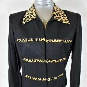 JESSICA HOWARD womens Sz 8 BLAZER jacket (A8)E2